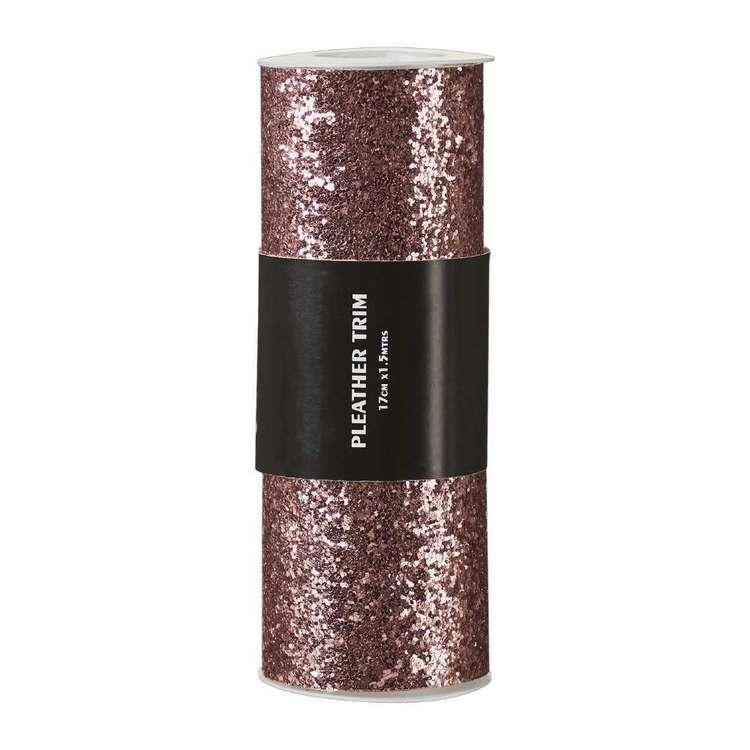 Glitter Confetti Pleather Trim