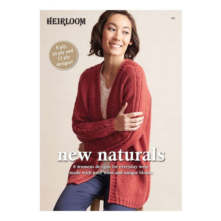 Heirloom New Naturals Pattern Book White