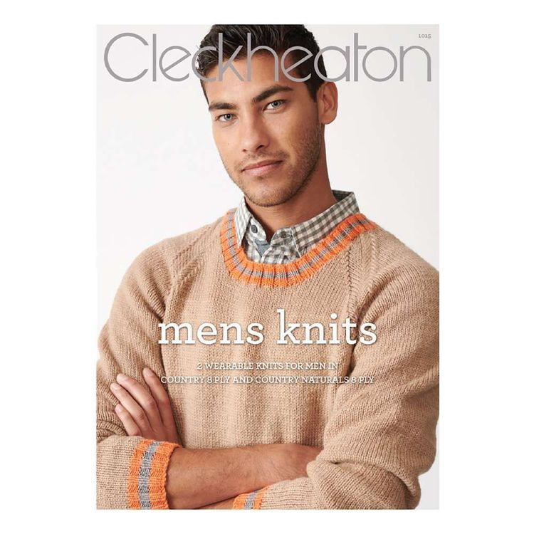 Cleckheaton Country Mens Knits Book Multicoloured