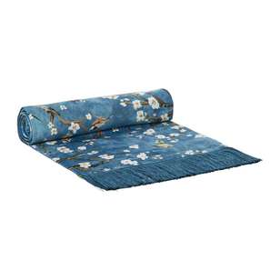 Koo Home Mai Velvet Printed Table Runner