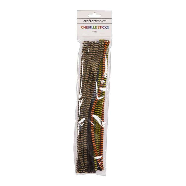 Crafters Choice Animal Chenille Sticks 40 Pack