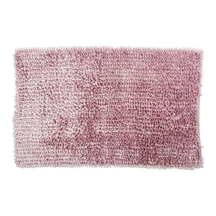 KOO Silk Touch Chenille Toggle Bath Mat