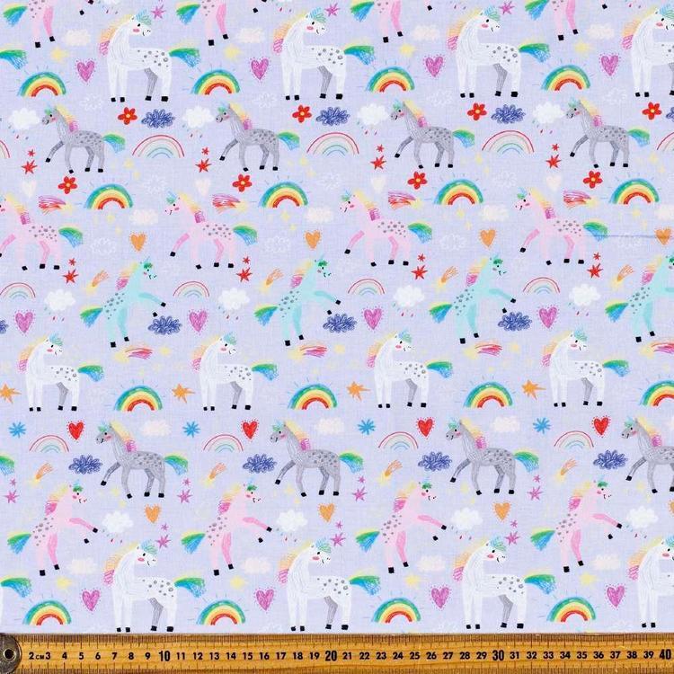 Feel The Love Digital Printed Poplin Fabric