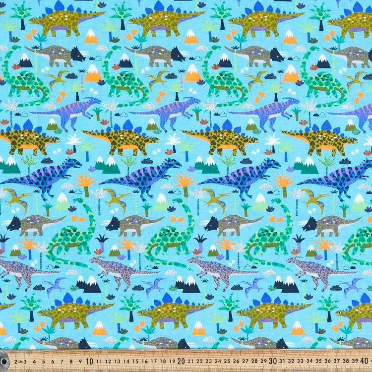 Patch Digital Printed Poplin Fabric
