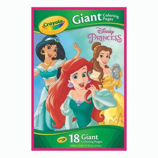 Crayola Princess Giant Colouring Pages
