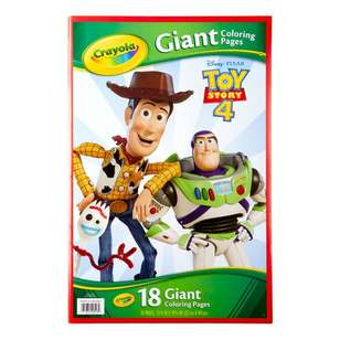 Crayola Toy Story 4 Giant Colouring Pages