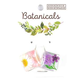 Botanicals Resin Square 2 Pack