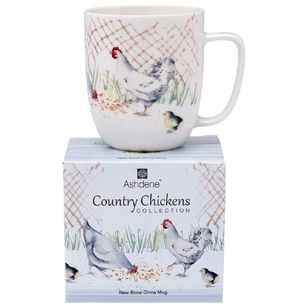 Ashdene Country Chickens The Pen Mug