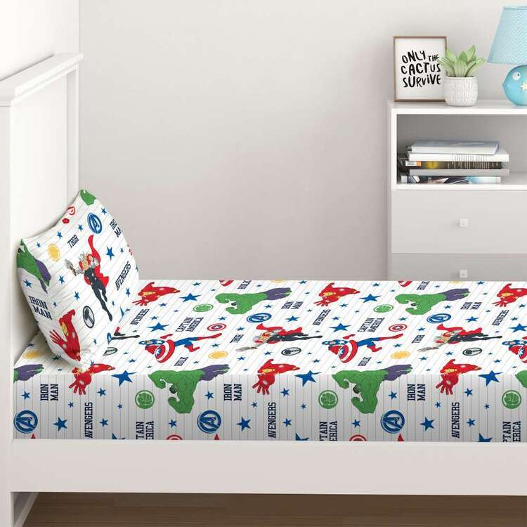 DC Comics Marvel Fitted Sheet Set