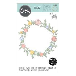 Sizzix Peter Hughes Spring Foliage Thinlits Die 9 Pack