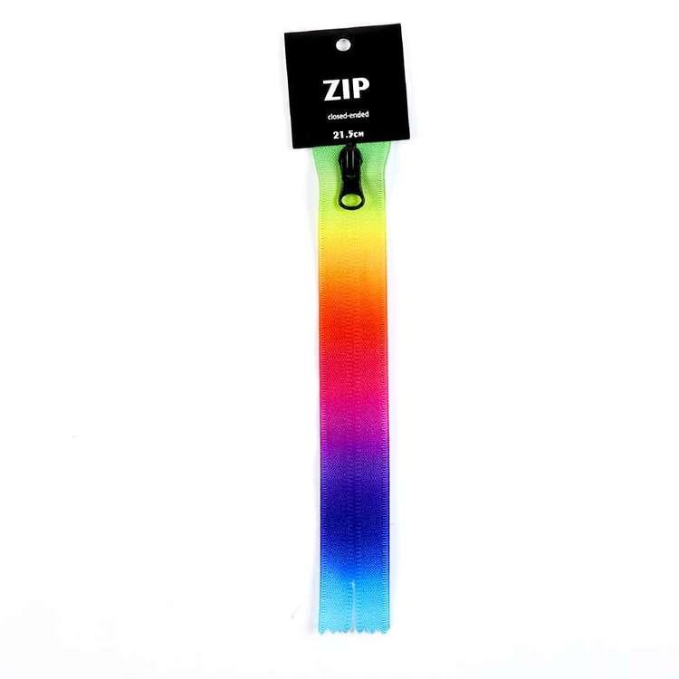 Timber & Thread Rainbow Zip