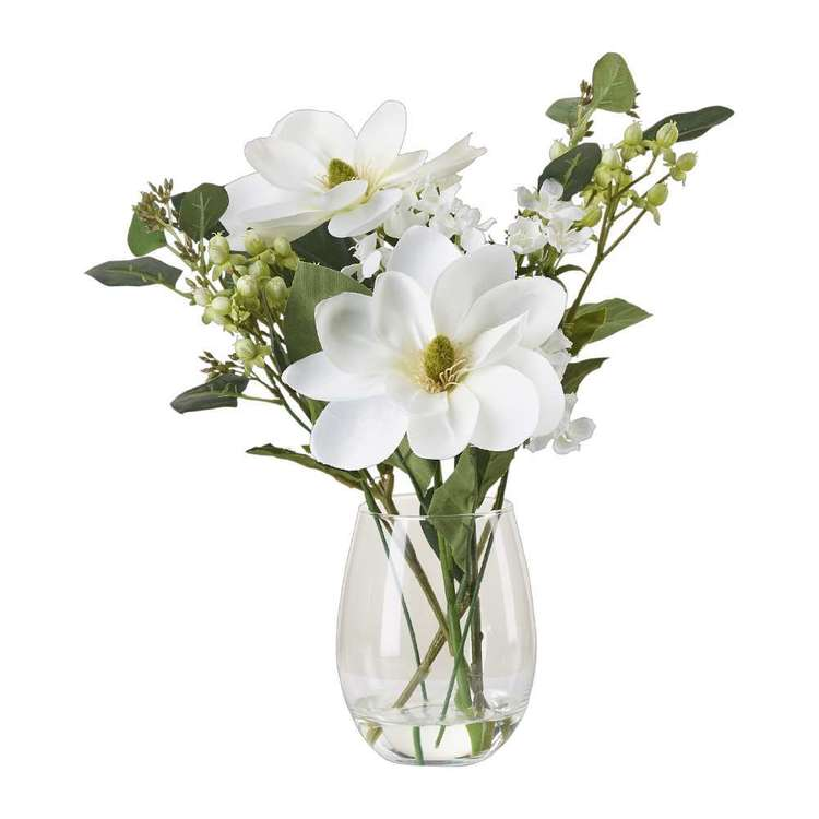 Living Space Magnolia Mix In Tub Vase