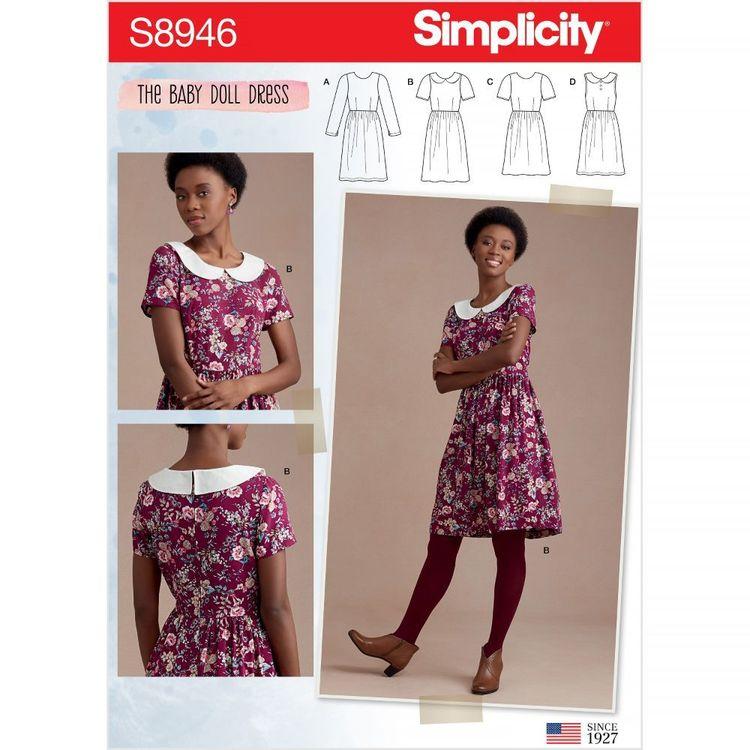 Simplicity Pattern S8946 Misses' Dresses