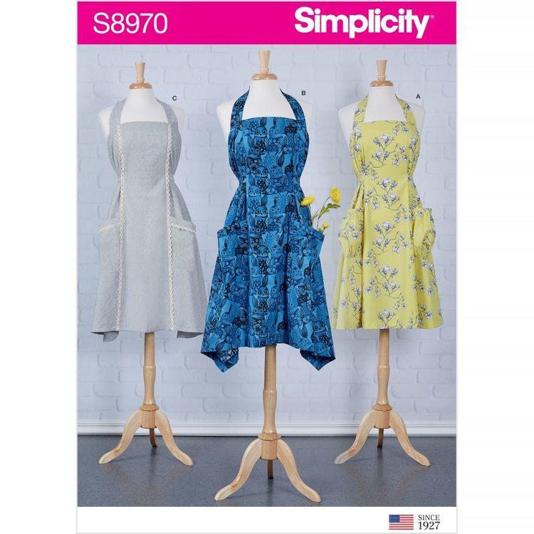 Simplicity Pattern S8970 Misses' Aprons