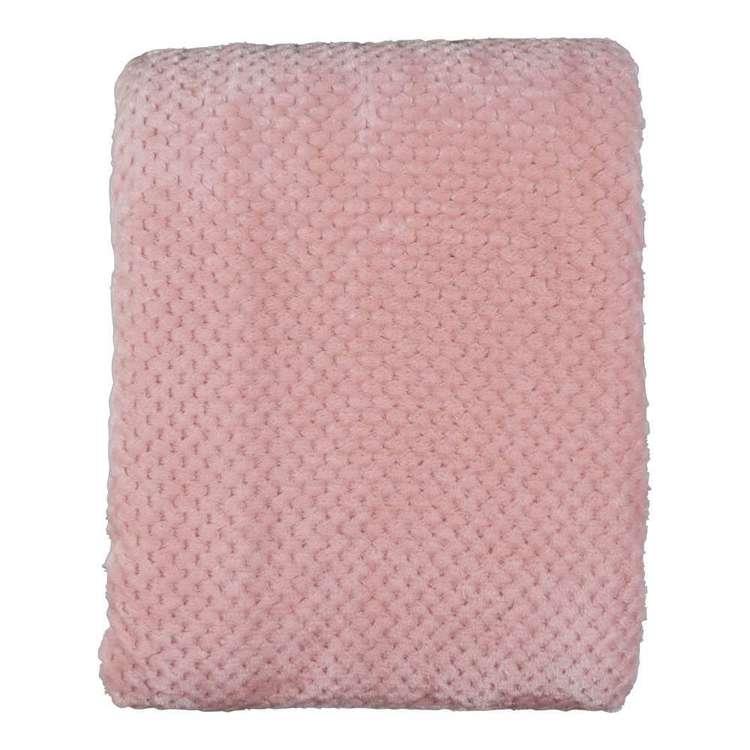 Brampton House Honeycomb Lattice Blanket