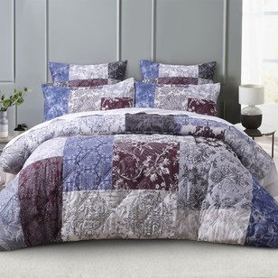 KOO Isabella Patchwork Quilt Cover Set