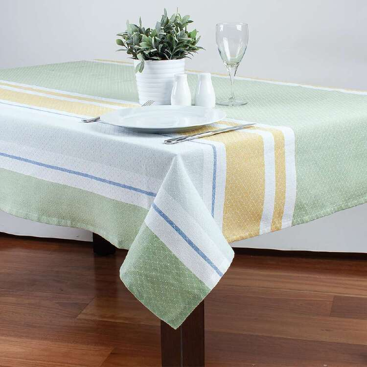 Dine By Ladelle Florence Woven Table Cloth