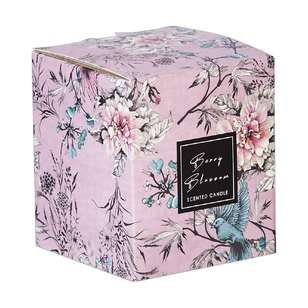 Ombre Home Sakura Bloom Berry Blossom Boxed Candle