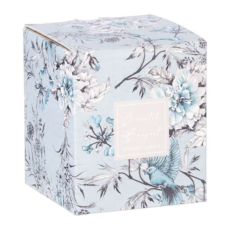Ombre Home Sakura Bloom Oriental Bouquet Boxed Candle