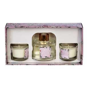 Ombre Home Sakura Bloom Reed Diffuser And Candle Set