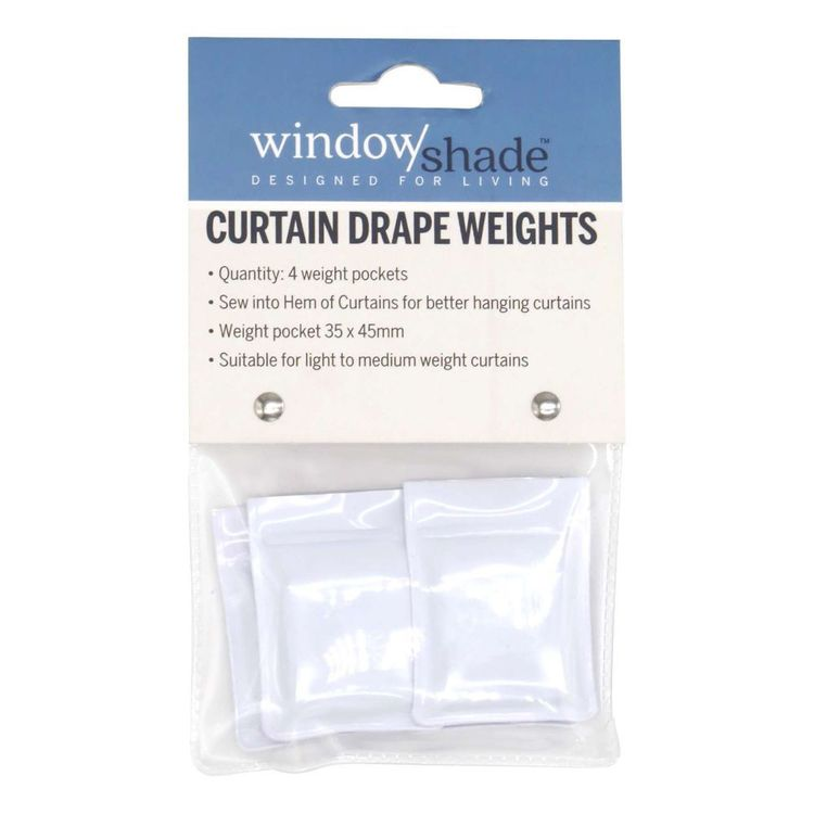 Windowshade Curtain Drape Weights 4 Pack