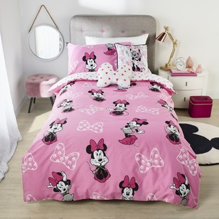 Disney Minnie Mouse Quilt Cover Set