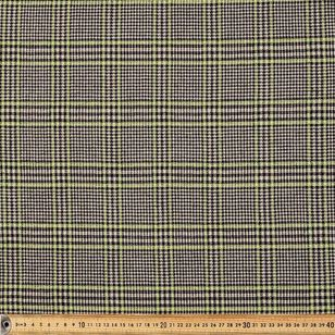 Glen Plaid Printed 150 cm Double Knit Fabric