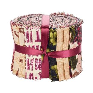 Wine 20 Piece Jelly Roll