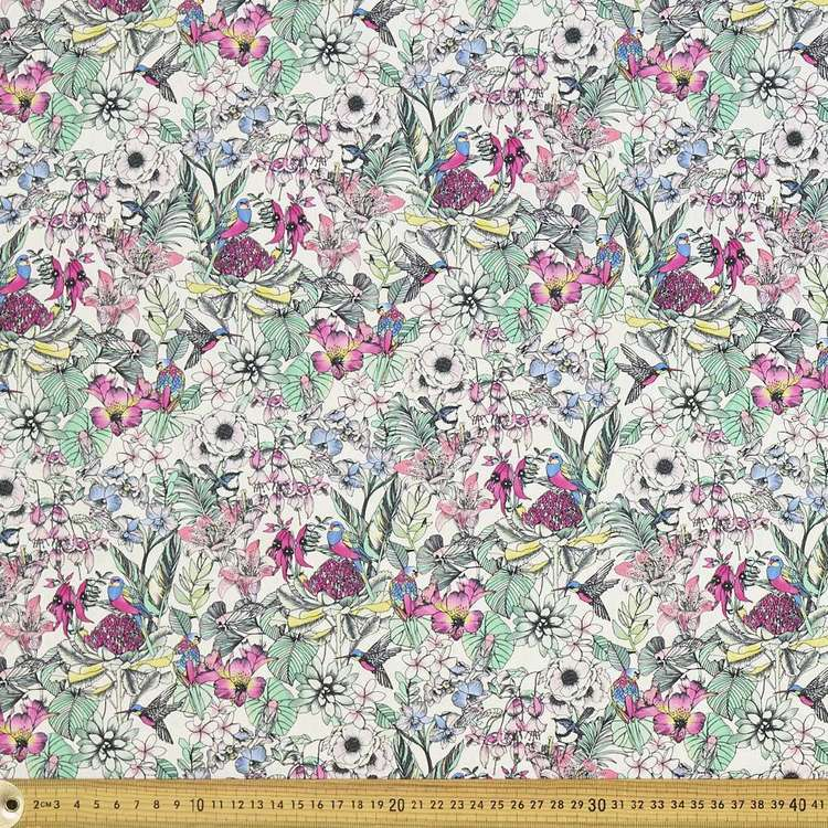 Scenic Route Flora & Fauna Cotton Fabric