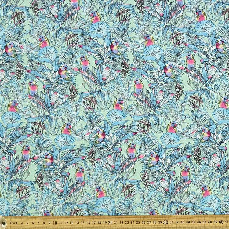 Scenic Route Rainbow Lorikeet Cotton Fabric