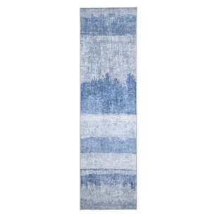 Living Space Zino Printed Silky Runner
