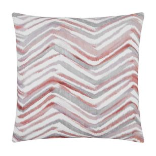 Bouclair Blushing Tones Atzi Zigzag Cushion