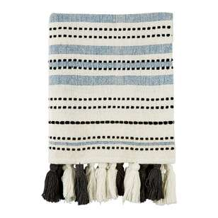 Ombre Home Weathered Coastal Textured Throw