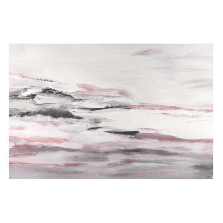 Bouclair Blushing Tones Blush Abstract Print