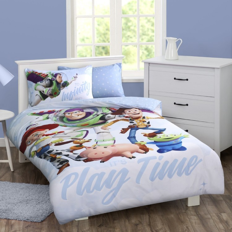 Toy Story Quilt Cover Set Multicoloured