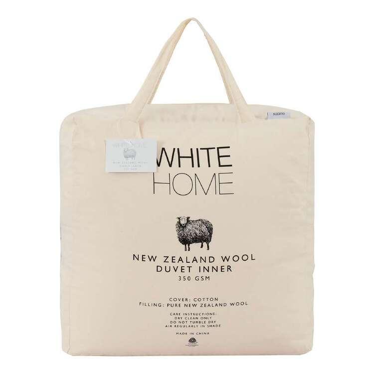 White Home Wool Duvet Inner