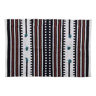 Koo Home Surin Woven Cotton Scatter Mat