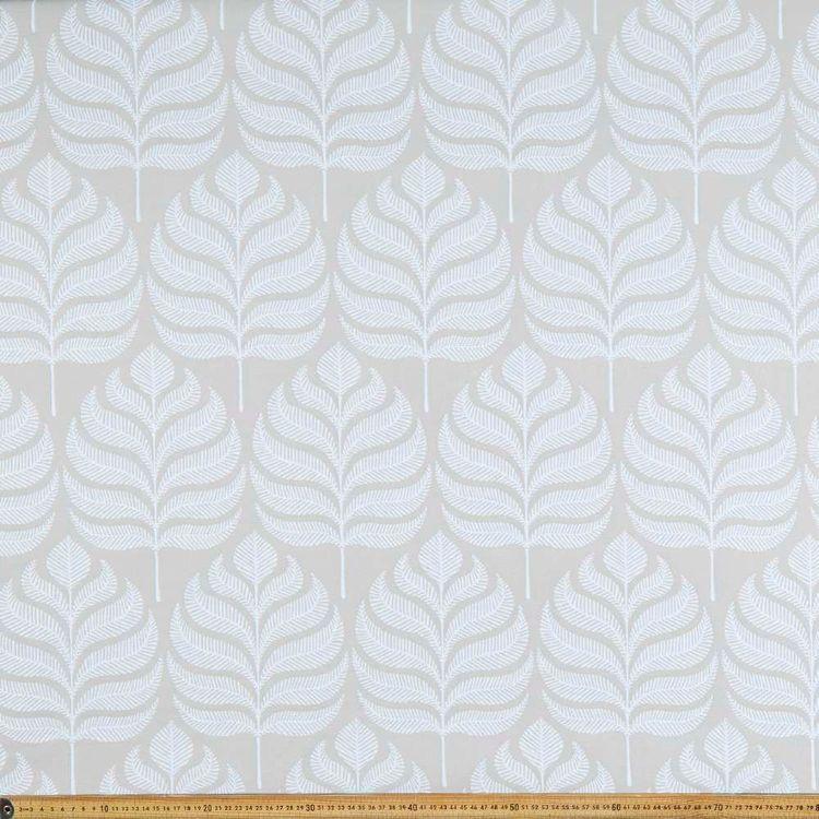 Modern Leaf Jacquard Curtain Fabric