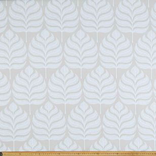 Modern Leaf Jacquard Curtain Fabric