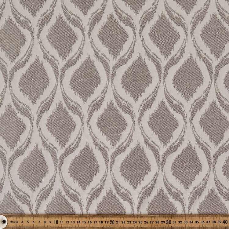 Ikat Jacquard Curtain Fabric