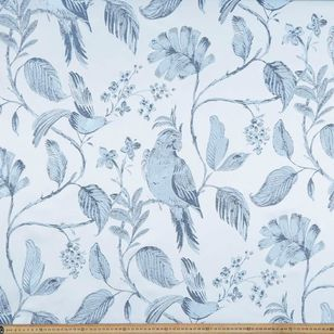Birds Jacquard Curtain Fabric