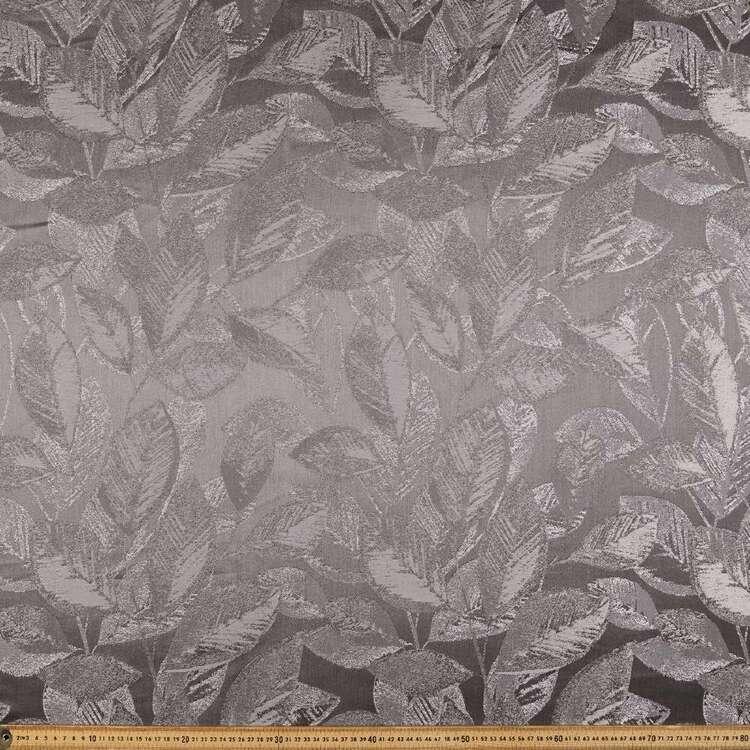 Leaves Jacquard Curtain Fabric
