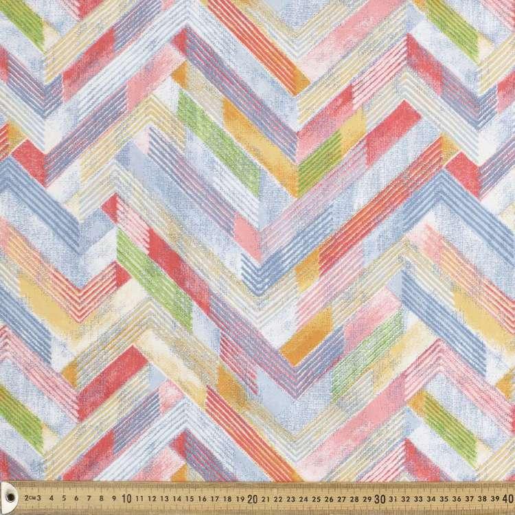 Mondo Geometric Satin Fabric