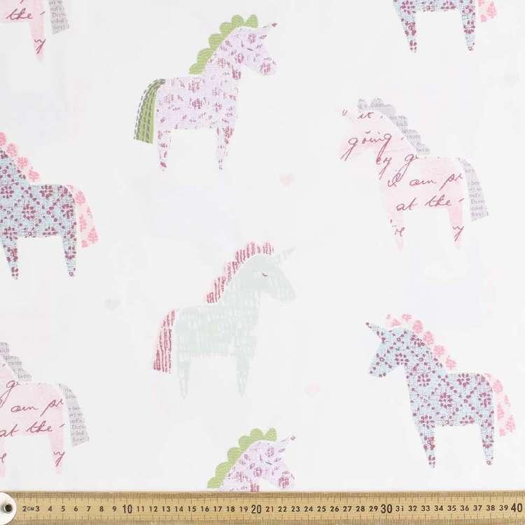 Unicorn Satin Fabric