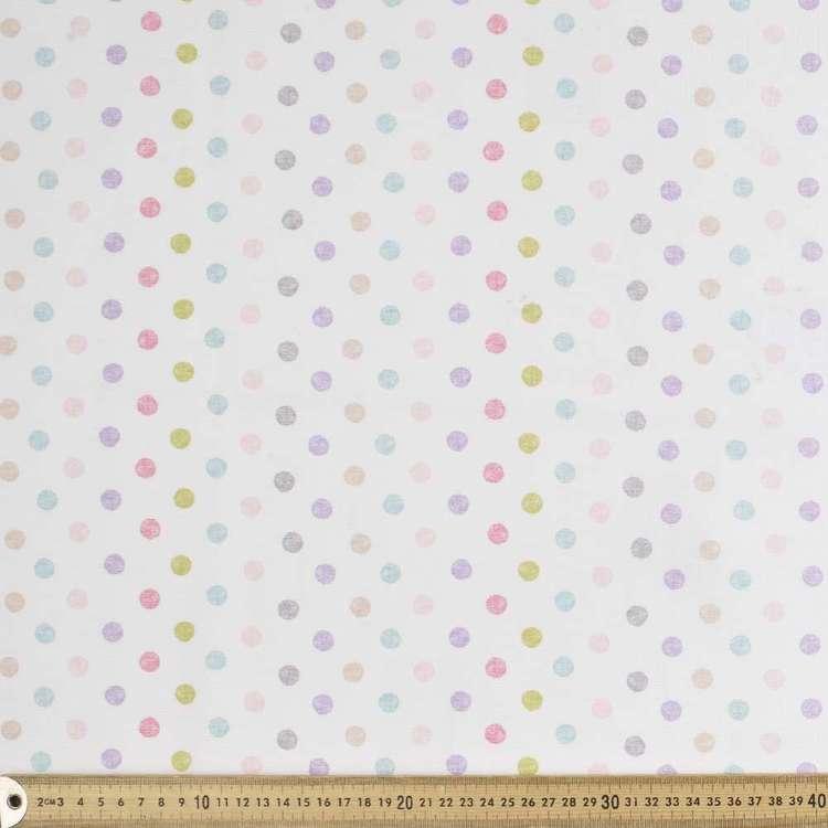 Spot Sheer Fabric
