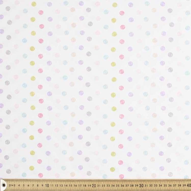 Spot Satin Fabric