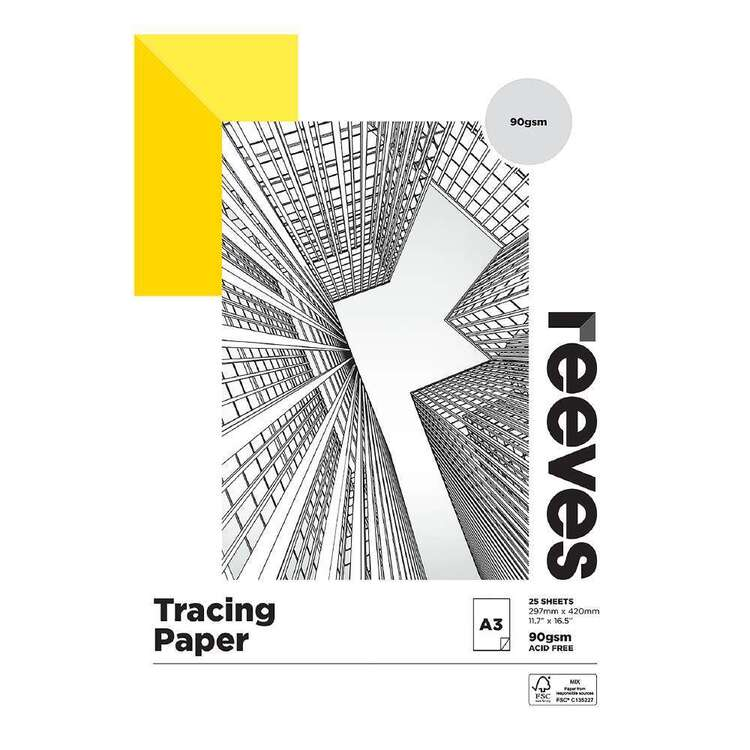 Reeves A3 90 gsm Tracing Pad
