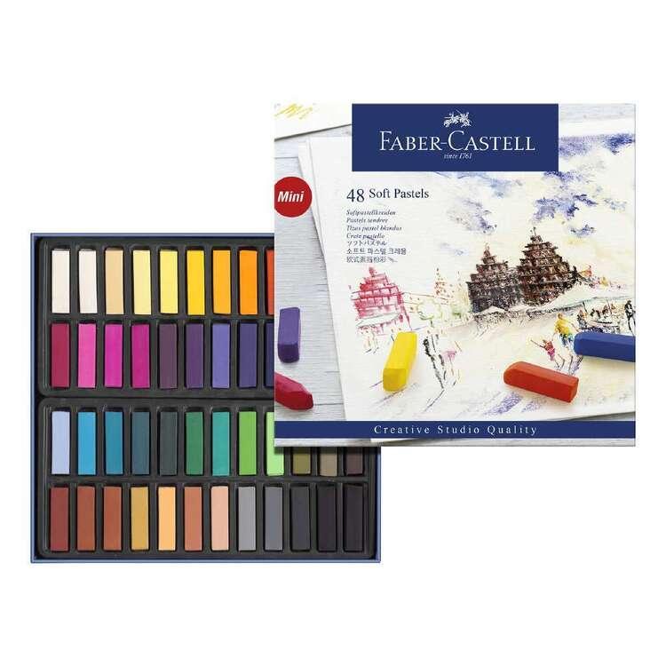 Faber Castell Studio Soft Pastels Box 48 Pack