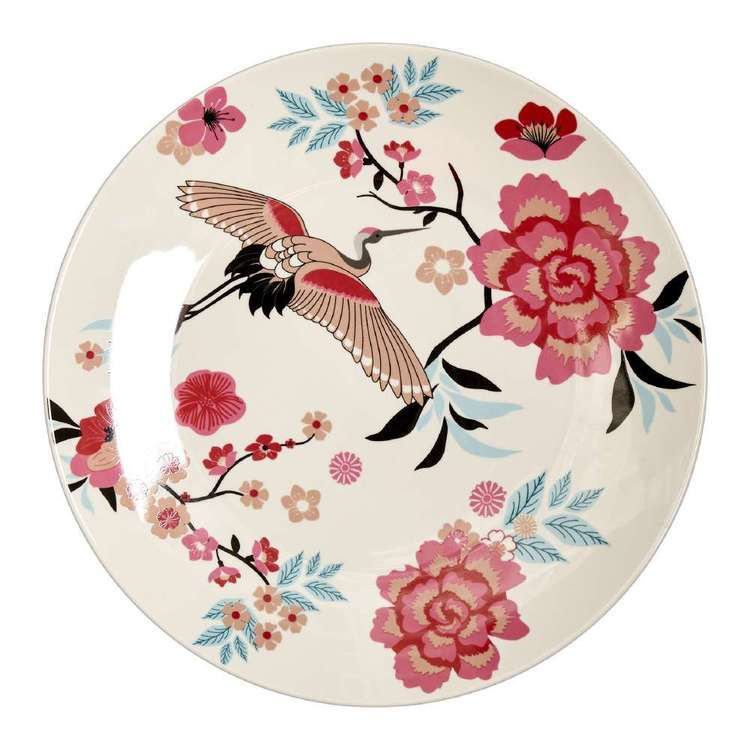 Dine By Ladelle Chinoiserie Large Plate