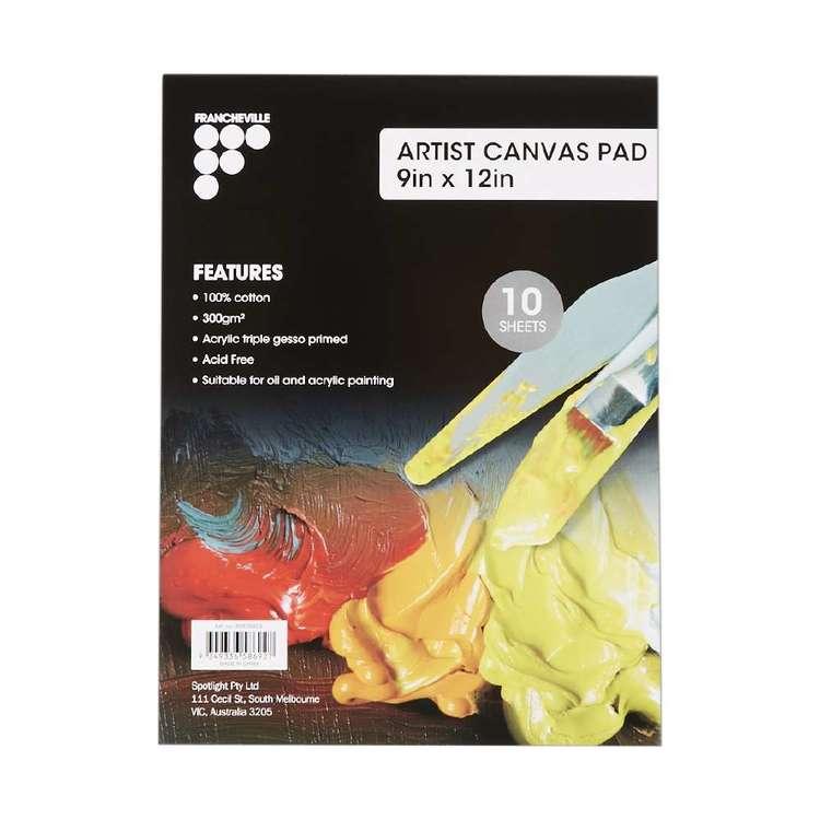 Francheville 10 Page Canvas Artist Pad